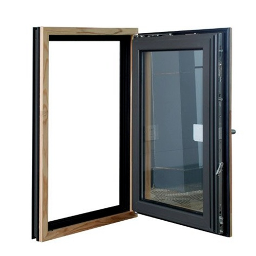 China latest design single pane aluminum casement glass for 2 pane window