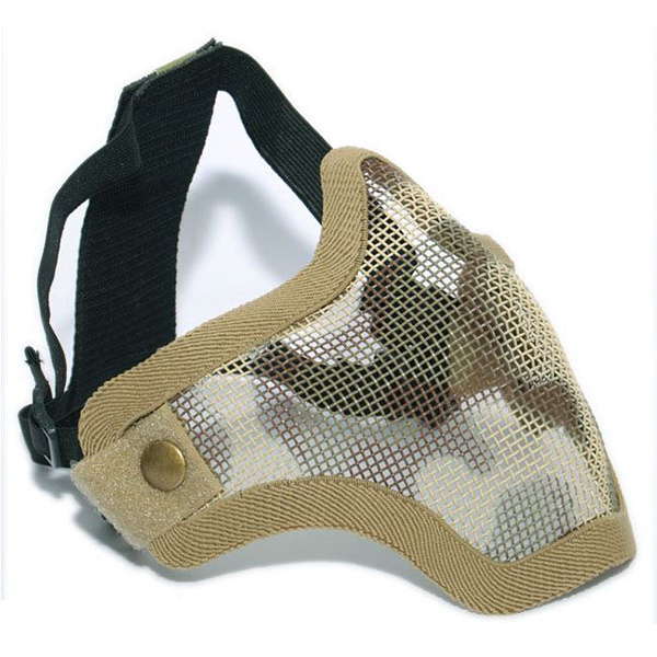 Airsoft Tactical V1 Strike Mesh Half Face Mask