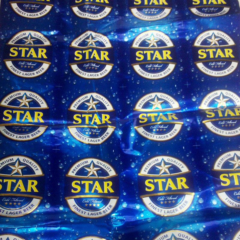 Aluminized Beverage Label