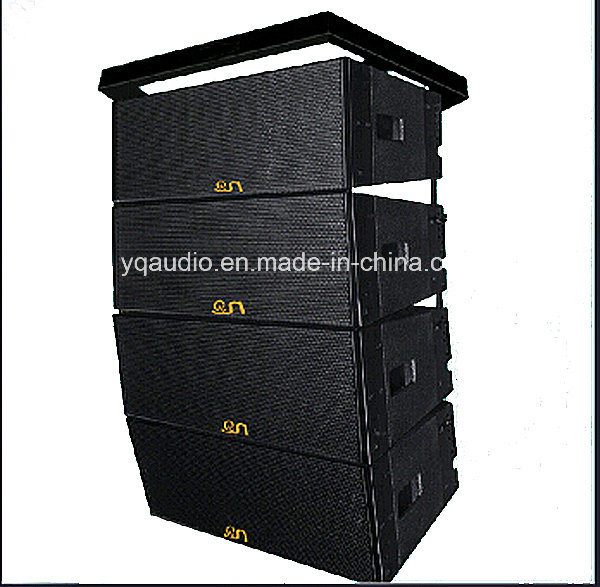 "1000W Dual 12"" Three Way Line Array Professional Audio Speaker System"