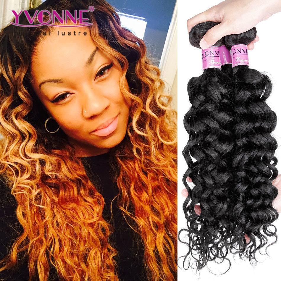 Fashion Italian Curly Human Hair Weave, Brazilian Virgin Hair Extension