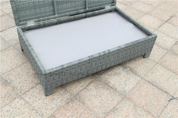 Outdoor Rattan Sofa with New design of Garden Furniture