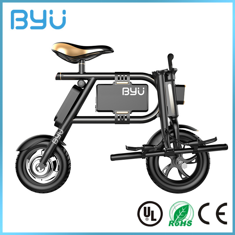 Original 2 Wheels Easy Folding Foldable Electric Vehicle for Adults