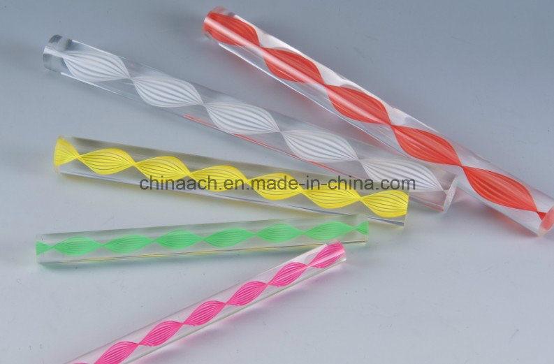 Acrylic Square Rod/Acrylic Bubble Rod Acrylic Rod with Air Bubble