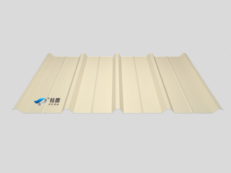 Metal Prepainted Trapezoid Panel for Facades and Wall Cladding (leaf green6002)