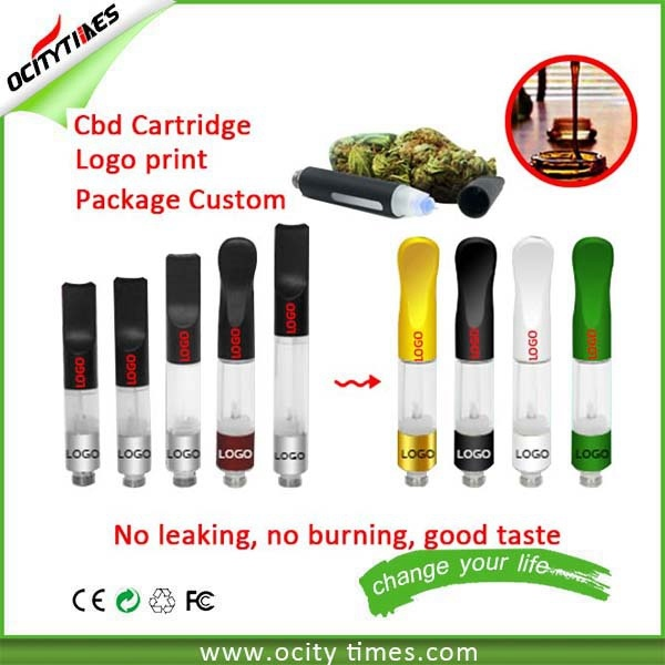 No Leaking E Cigarette Cbd Oil Vaporizer with Logo Custom