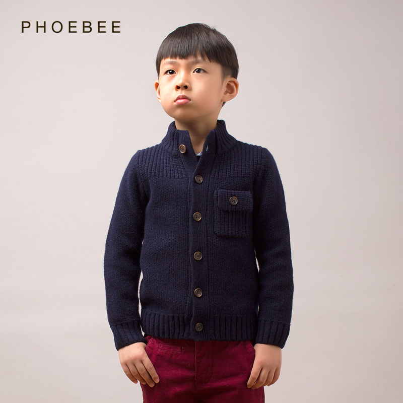 Warm Wool Baby Boys Fashion Clothing Children Wear for Kids