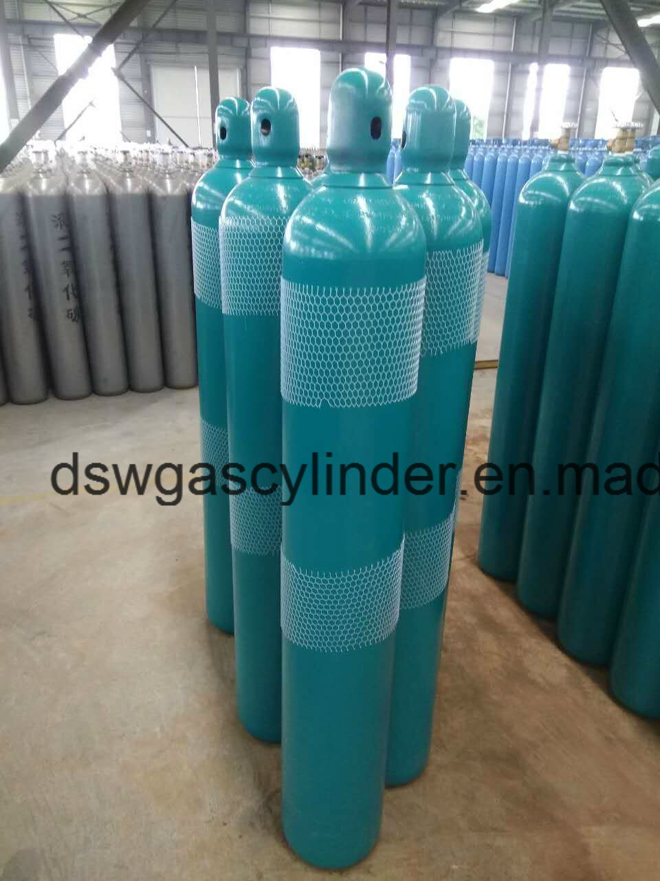 Empty Oxygen Gas Cylinder 50L