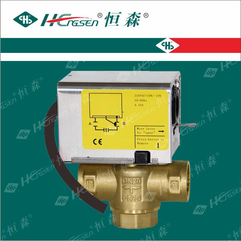 Df-03 Detach Motorized/Motorised Valve, Spring Reture, Zone Valve for Central Heating