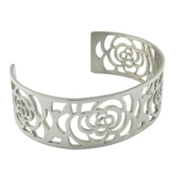 Casting Fashion Stainless Steel Bangle Bracelet