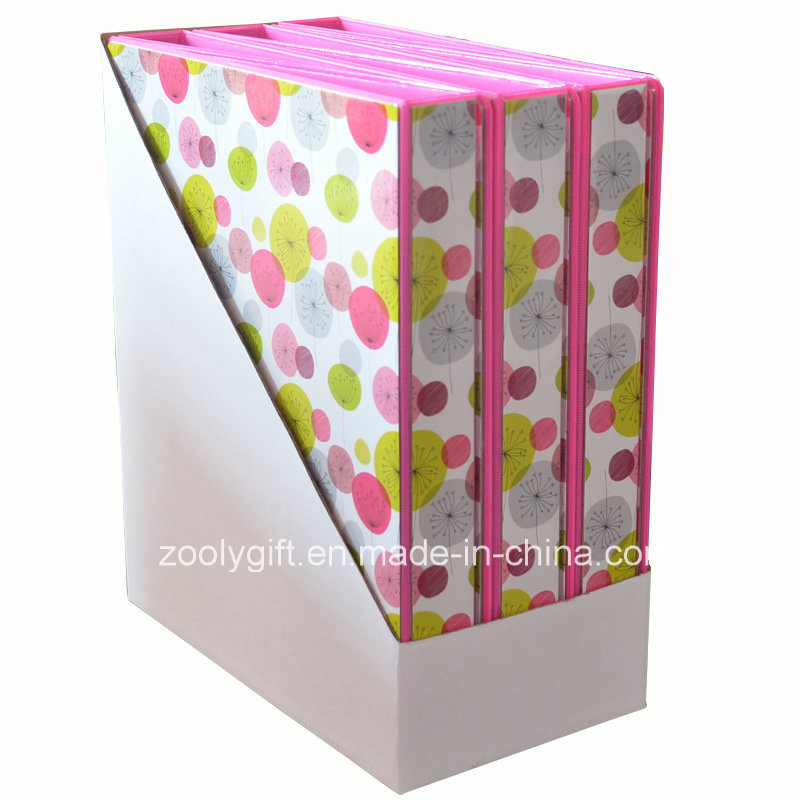 Hot Sale Printing PVC 3 Ring Binders with PDQ