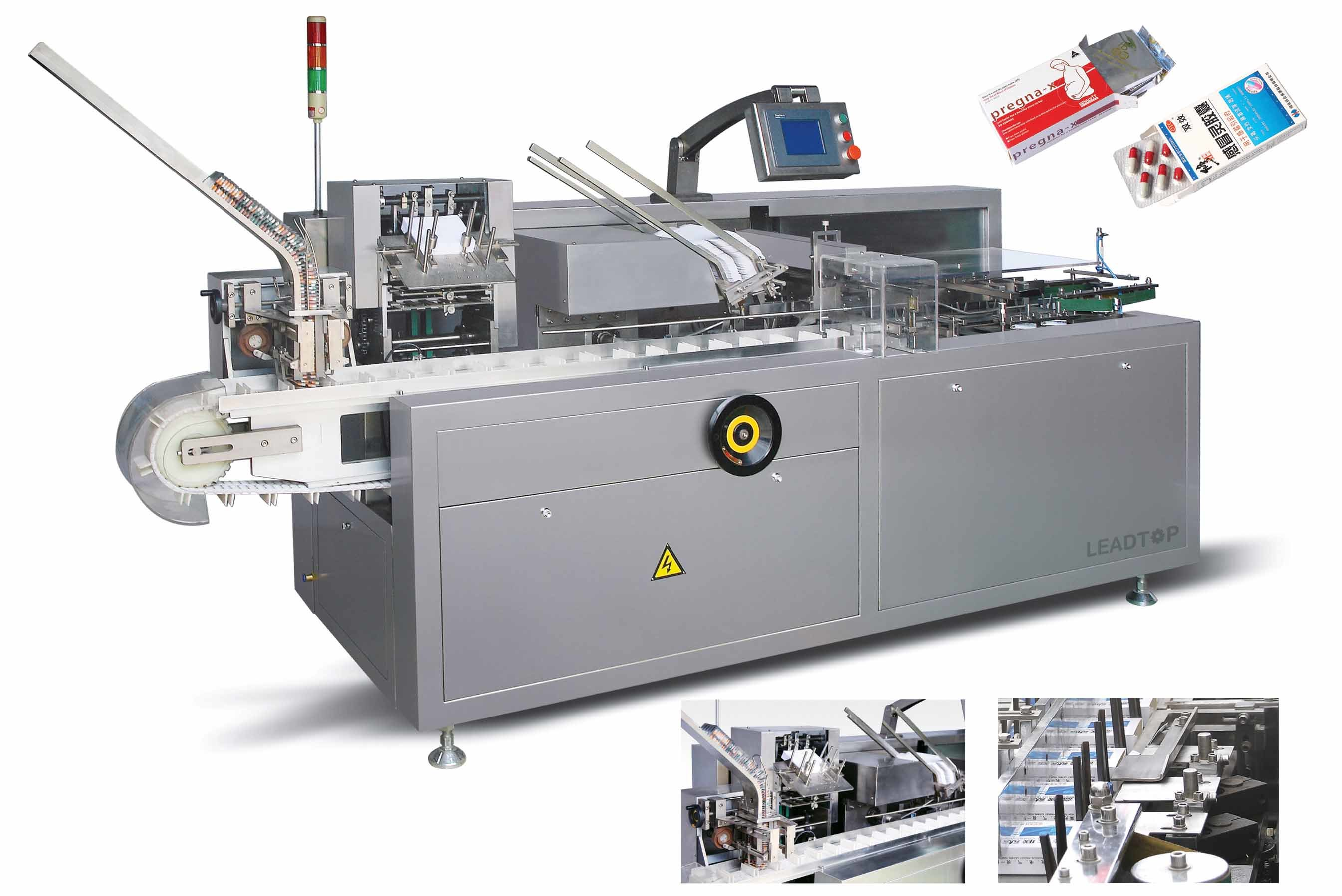 Fully Automatic Carton Box Cartoning Machinery