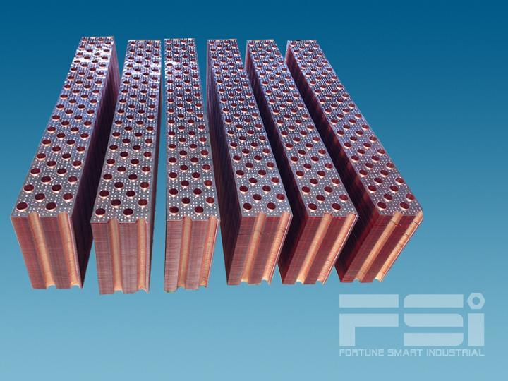 Copper Heat Transferring Plate for Air Decomposition Machine 801