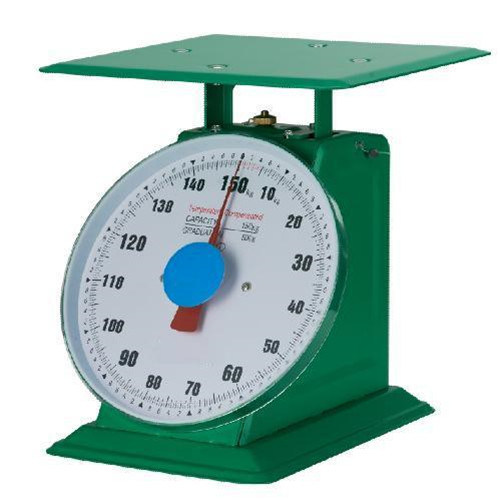 150kg Heavy Duty Mechanical Spring Weighing Scale with Plate