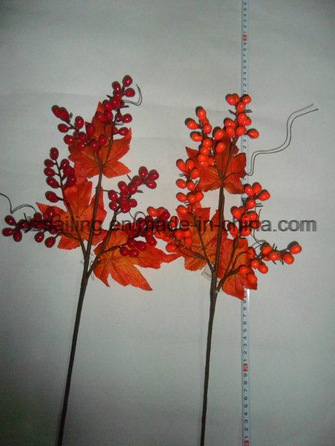 Autumn Coloration Berry Artificial Flower for Home Decoration (SHL15-G002)