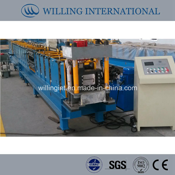 Z Section Steel Machine Cold Rolled Steel Channel with High Efficient Punching and Cutting System