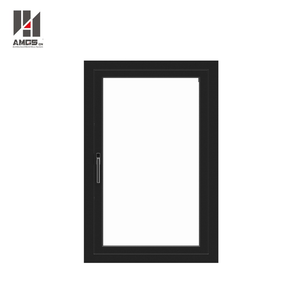 Customized Aluminium Casement Window with Double Glazing