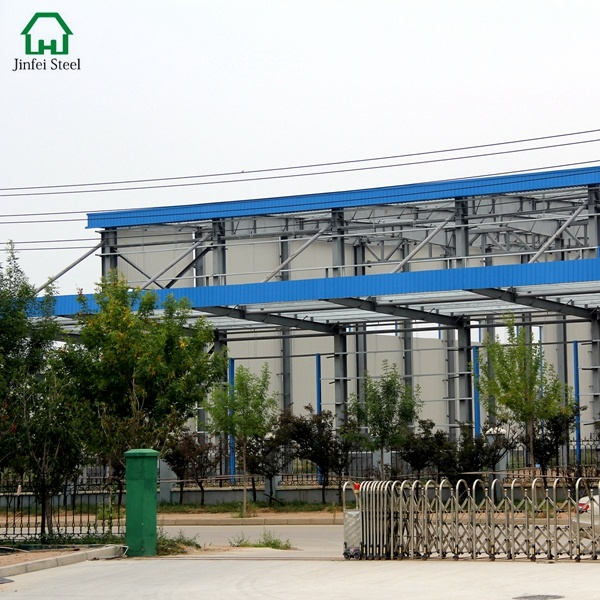 Professional Light Movable Steel Structure for Warehouse