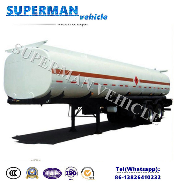 Carbon Steel Liquid Transport Oil Fuel Tanker Semi Trailer