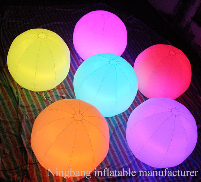 Waterproof Oxford Cloth Inflatable Lantern for Party or Decoration
