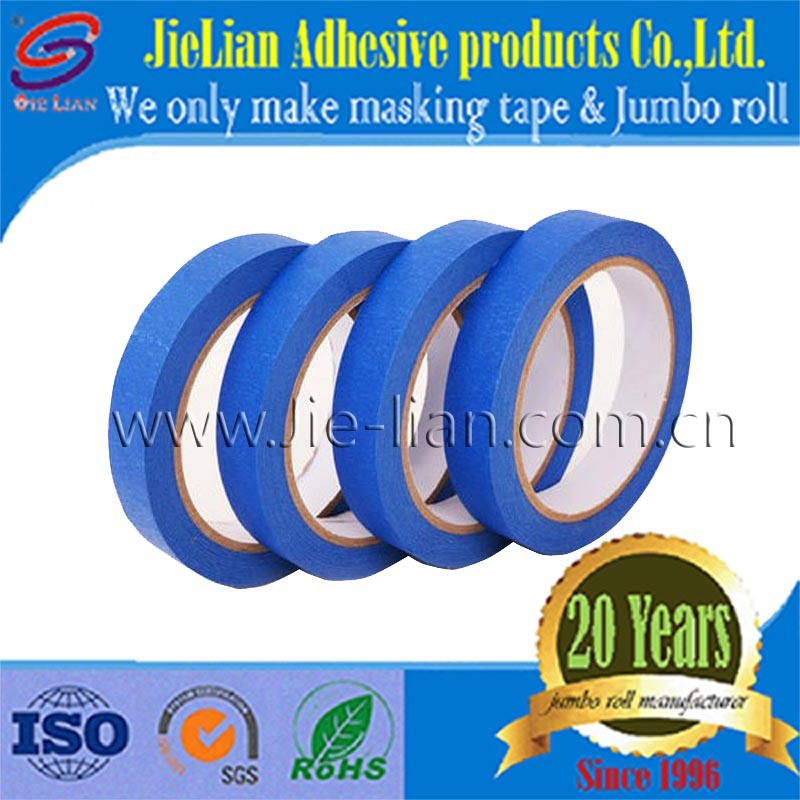 Blue Masking Tape Jumbo Roll