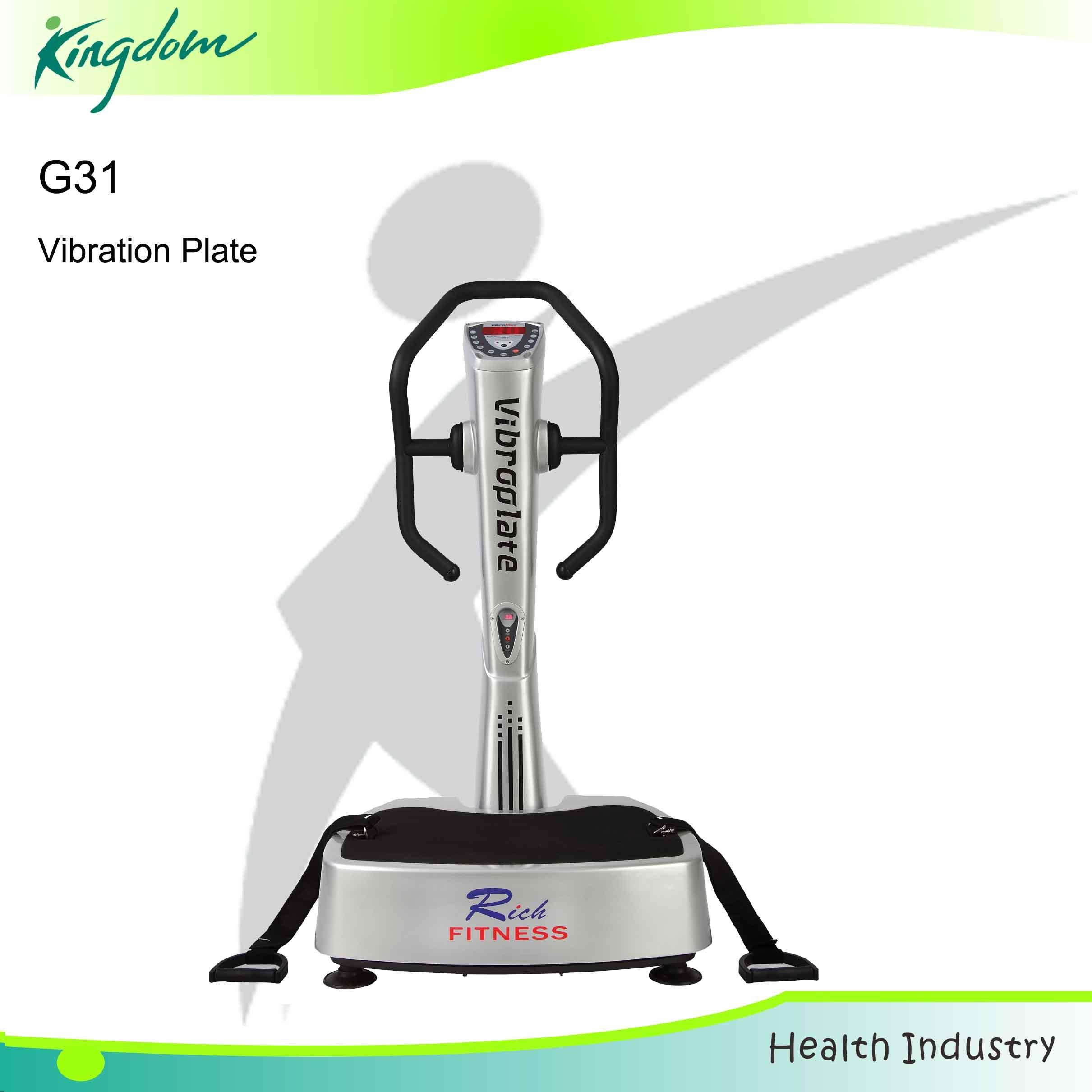 Vibration Plate Crazy Fit Massage Body Buildingtness Equipment Slimming Machine (G31)