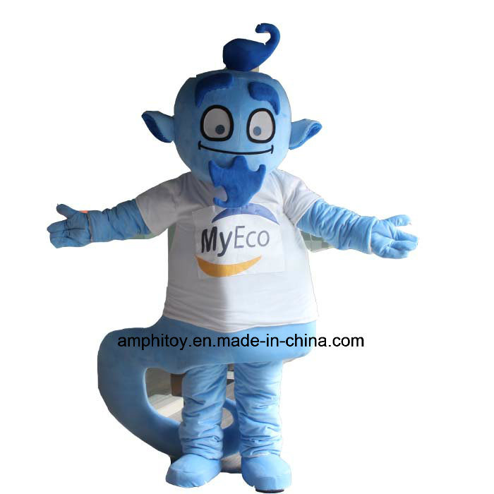 Customized Ghost Character Mascot Costume