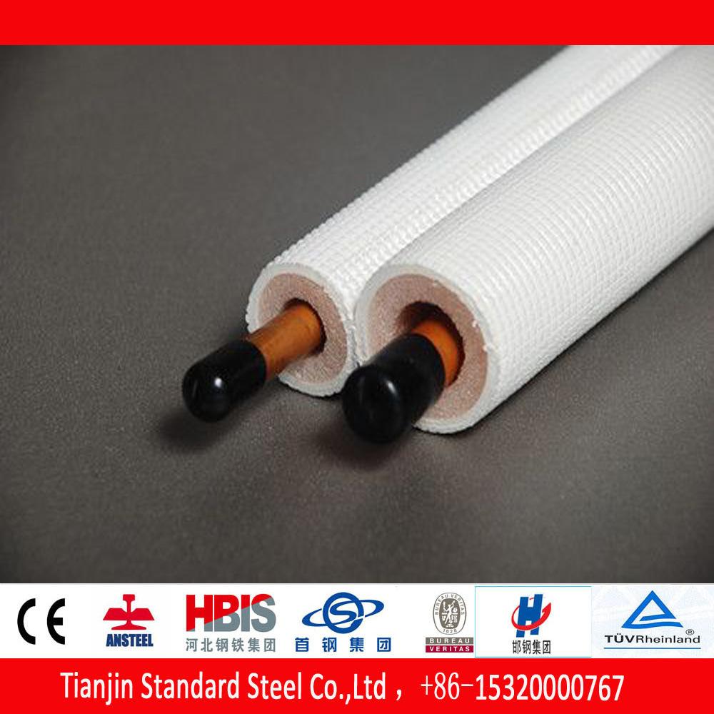 Phosphorus Deoxidised (DHP-Cu) Insulated Copper Tube TPE-X White