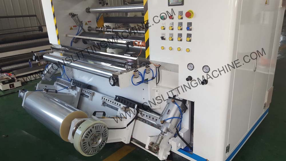 Plastic Film Slitting Machine for BOPP, PVC, Pet, PE