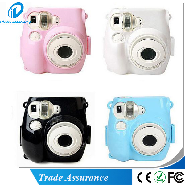 Fujifilm Instax Mini8 Transparent Hard Shell Protect Base Case
