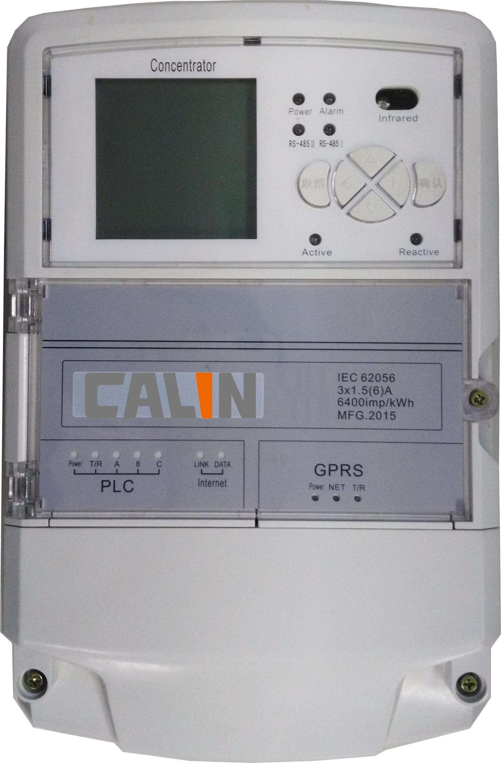 Energy Meter Collector Dcu Data Concentrator and Ami AMR System