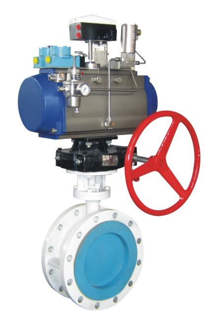 API609 Electric High Performance Three-Eccentric Butterfly Valve API Ce