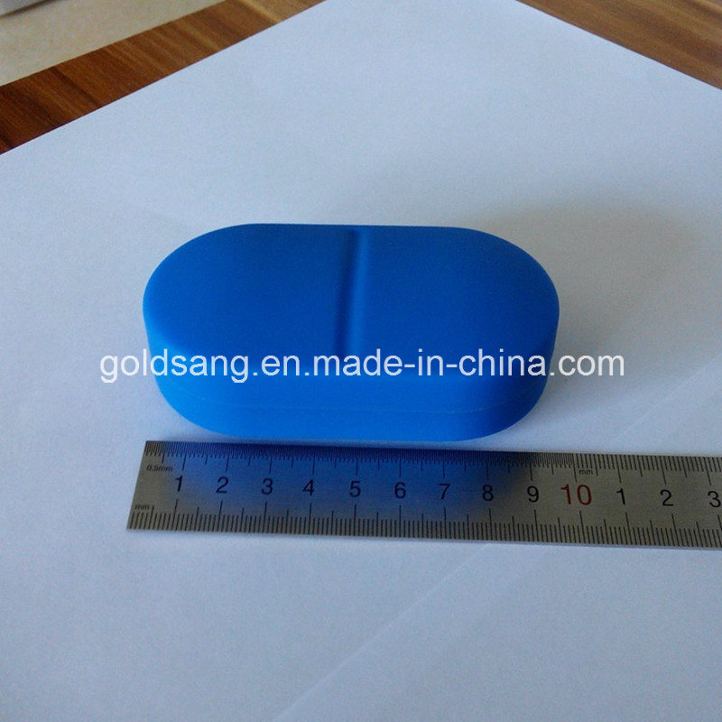 Eco-Friendly Silicone Medical Six-Compartment Pill Cases