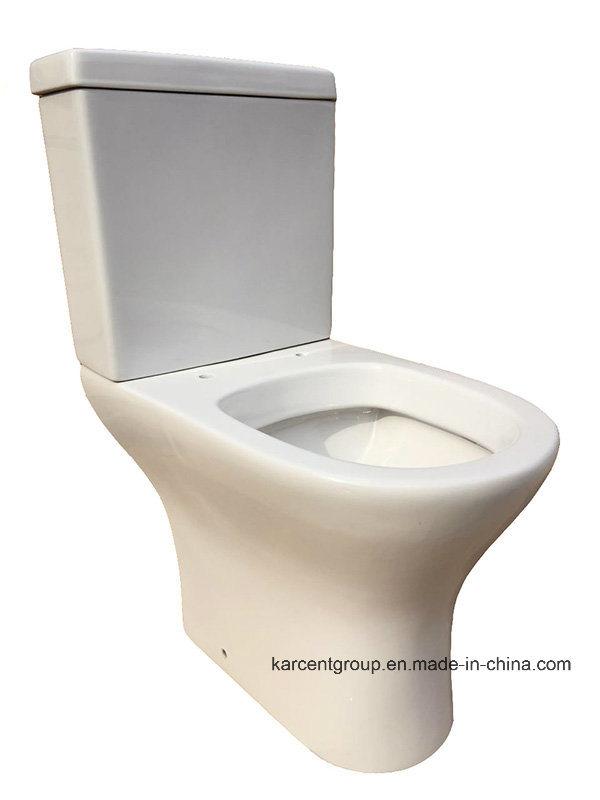 Two Piece Ceramic Toilet Ce Washdown Water Closet 00013CD