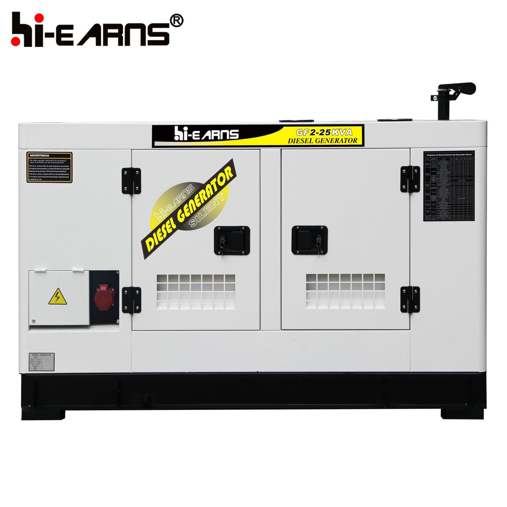 China Cummins and Deutz and Diesel Generator Set GF 20kw s