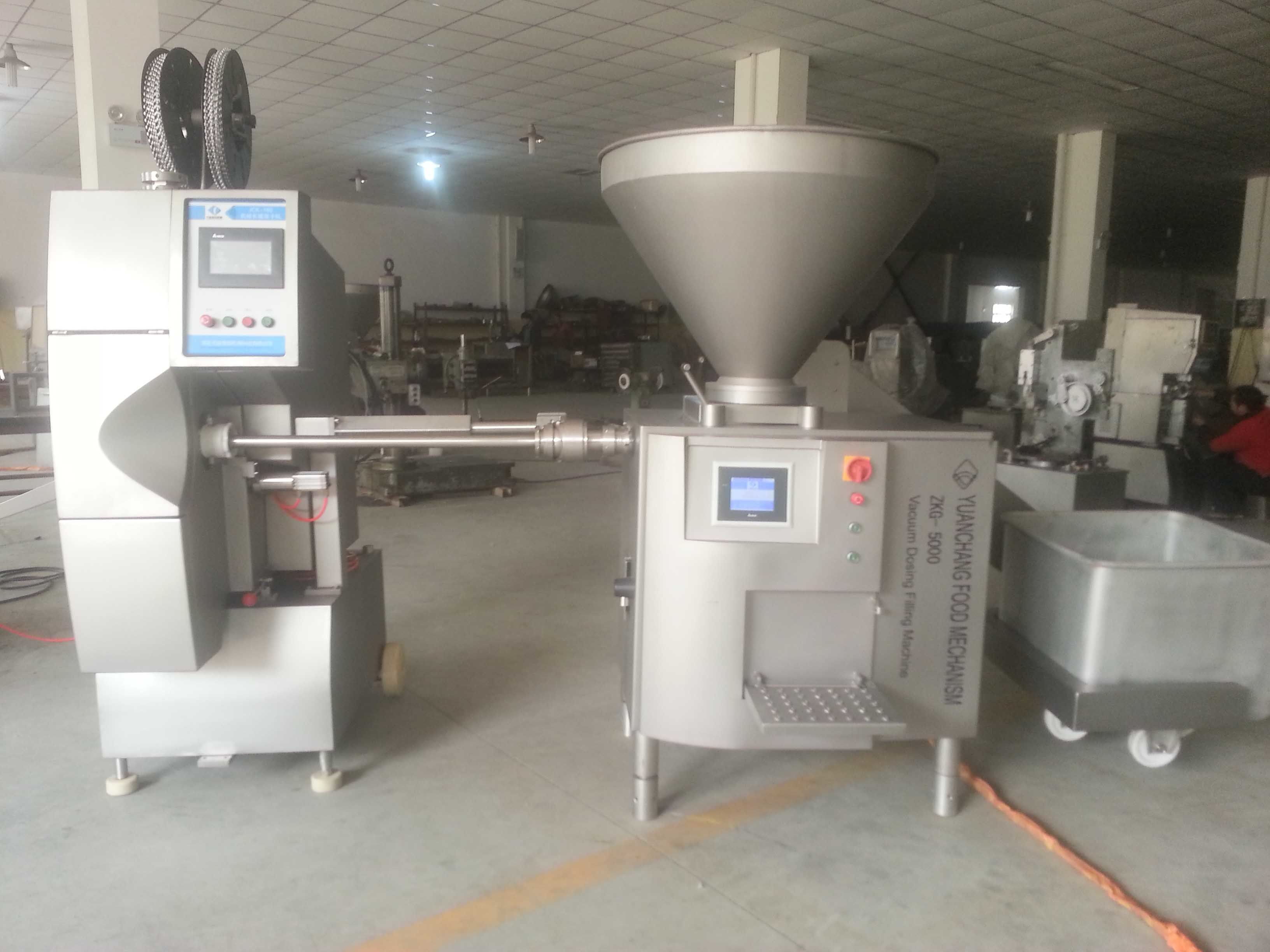 Automatic Industrial Sausage Making Machine/Sausage Production Line
