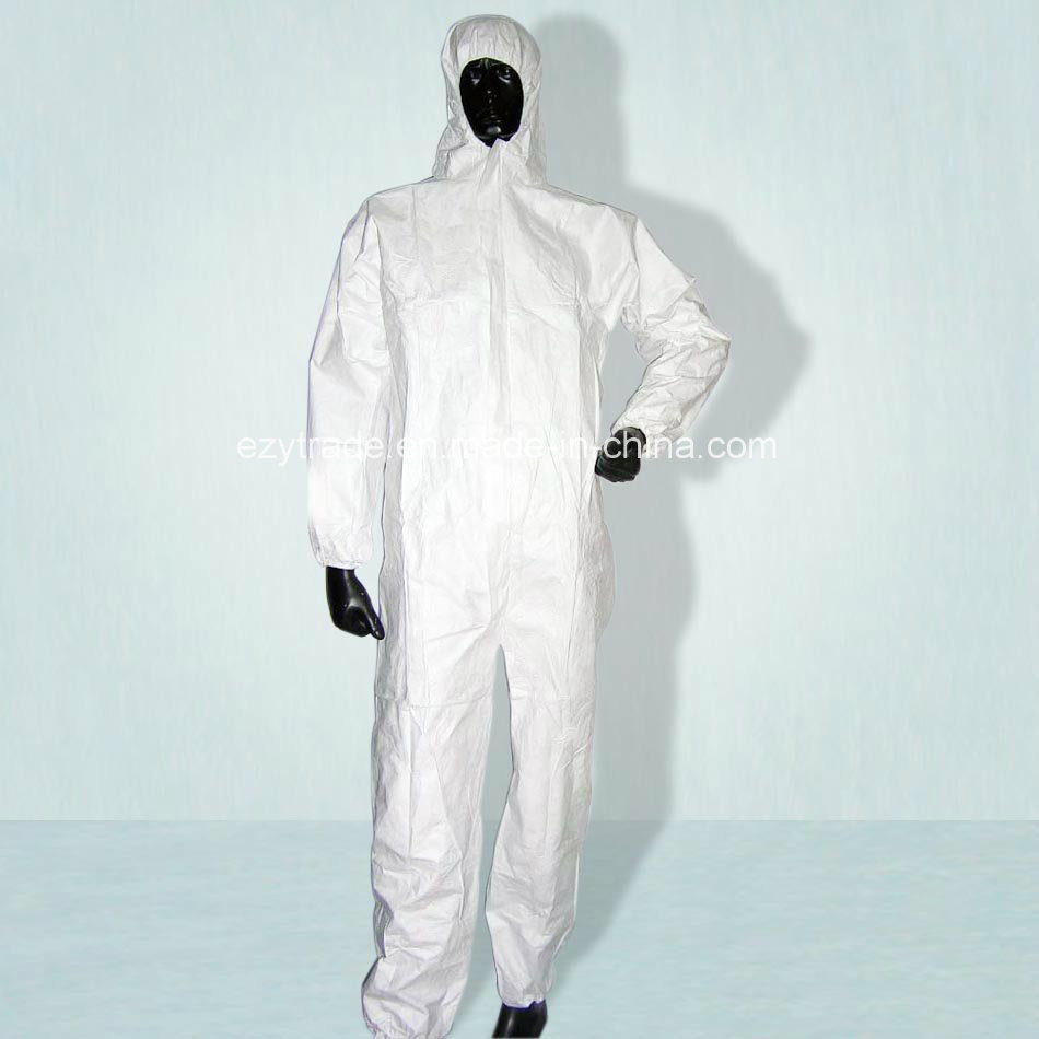 Disposable Protective Coverall Nonwowen Overall Working Garment