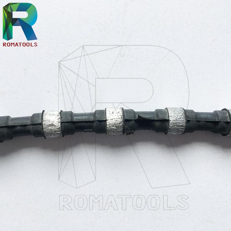 Diamond Wires for Quarry Granite Quarrying Block Squaring Profiling