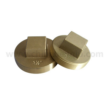 China Los Angeles Style Brass Cleanout Plugs A10112s