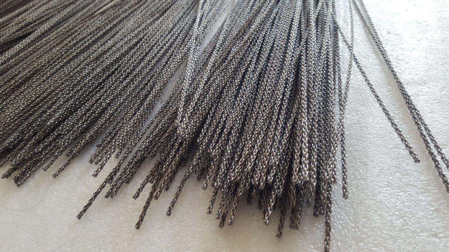 0.76mm Straight Tungsten Wire, Tungsten Filament Rope, Tungsten Stranded Wire