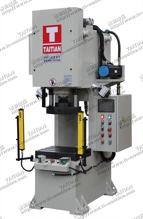 C Frame Hydraulic Press (TT-C25T)