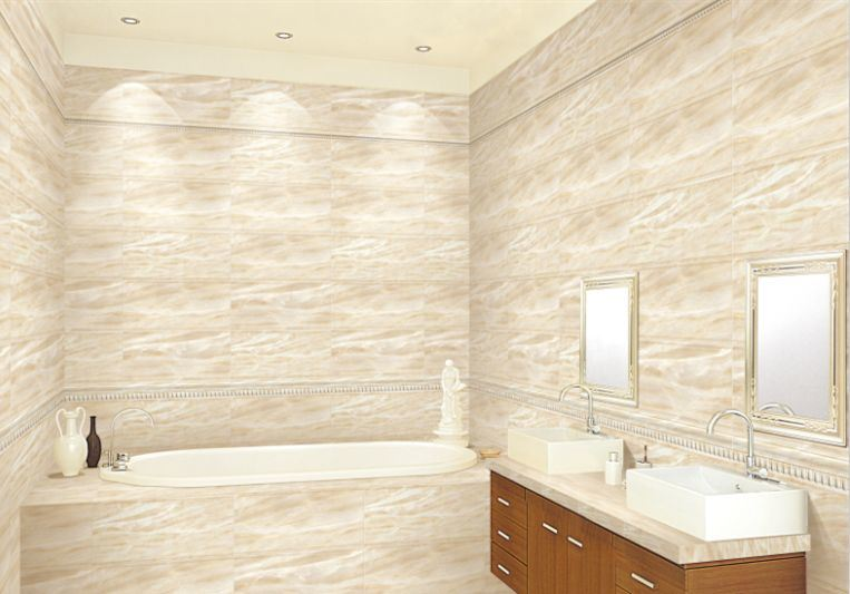 300X600mm Glazed Polished Porcelain Wall and Floor Tile
