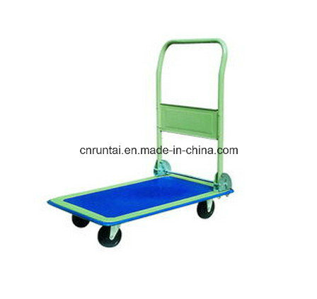 Four Wheels Good Function High Quality Capacious Platform Hand Truck (pH150)