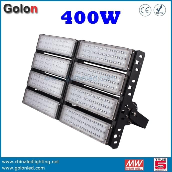 Flood Light Stadium Sport Court Field 400W 300W 200W 150W 100W 50W LED Outdoor Lighting 130lm/W LED Floodlight