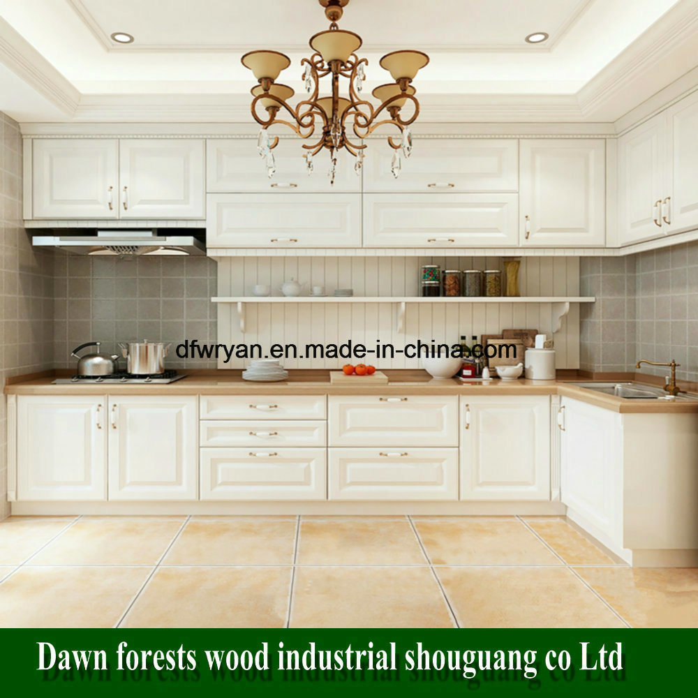 Melamine Particle Board Kitchen Furniture