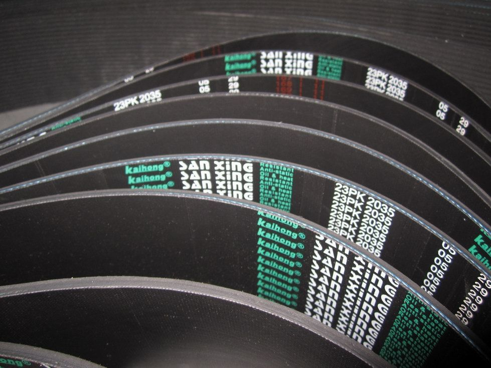Rubber Ribbed V Belt for Industrial Machines