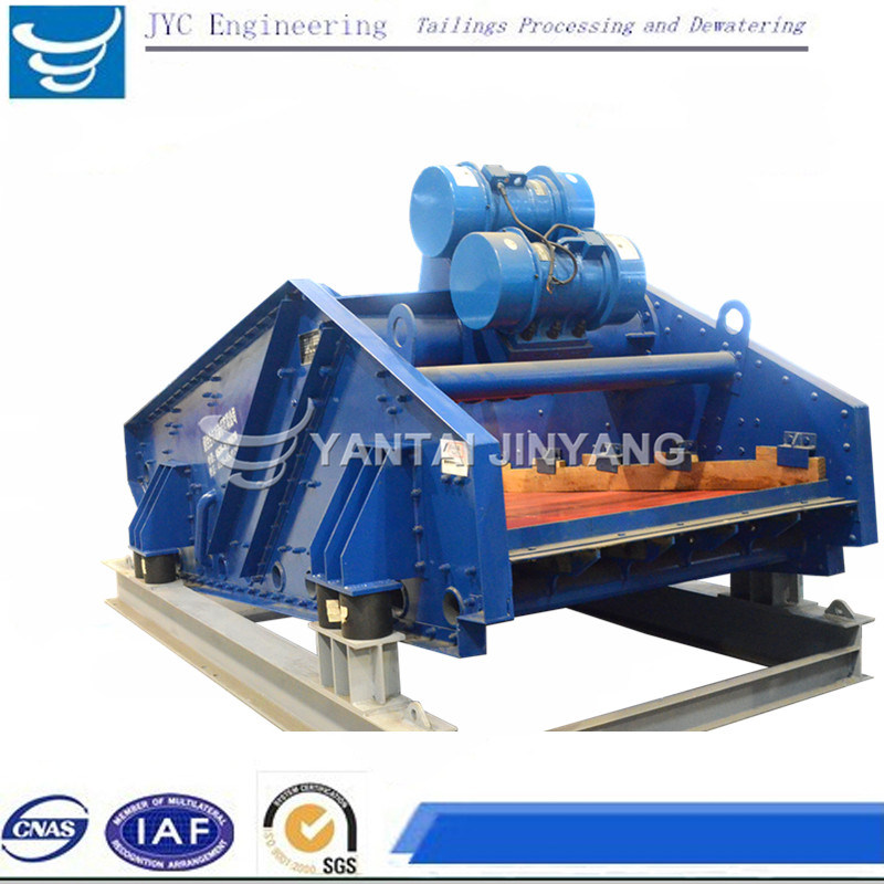 Mineral Machinery Linear Vibrating Screen for Tailings Dewatering