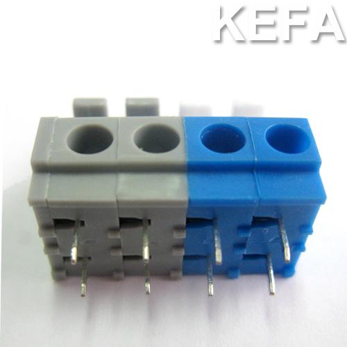PCB Spring Terminal Block with Dual Row Pin Header