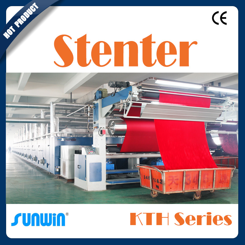 Stenter for Woven Fabric