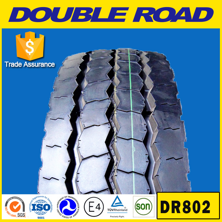 China Tire Manufacture Price Good Drive Tires 11.00r20 1000r20 1200r20 1200r24 12r22.5 18pr Doubleroad Radial Truck Tire for Sale